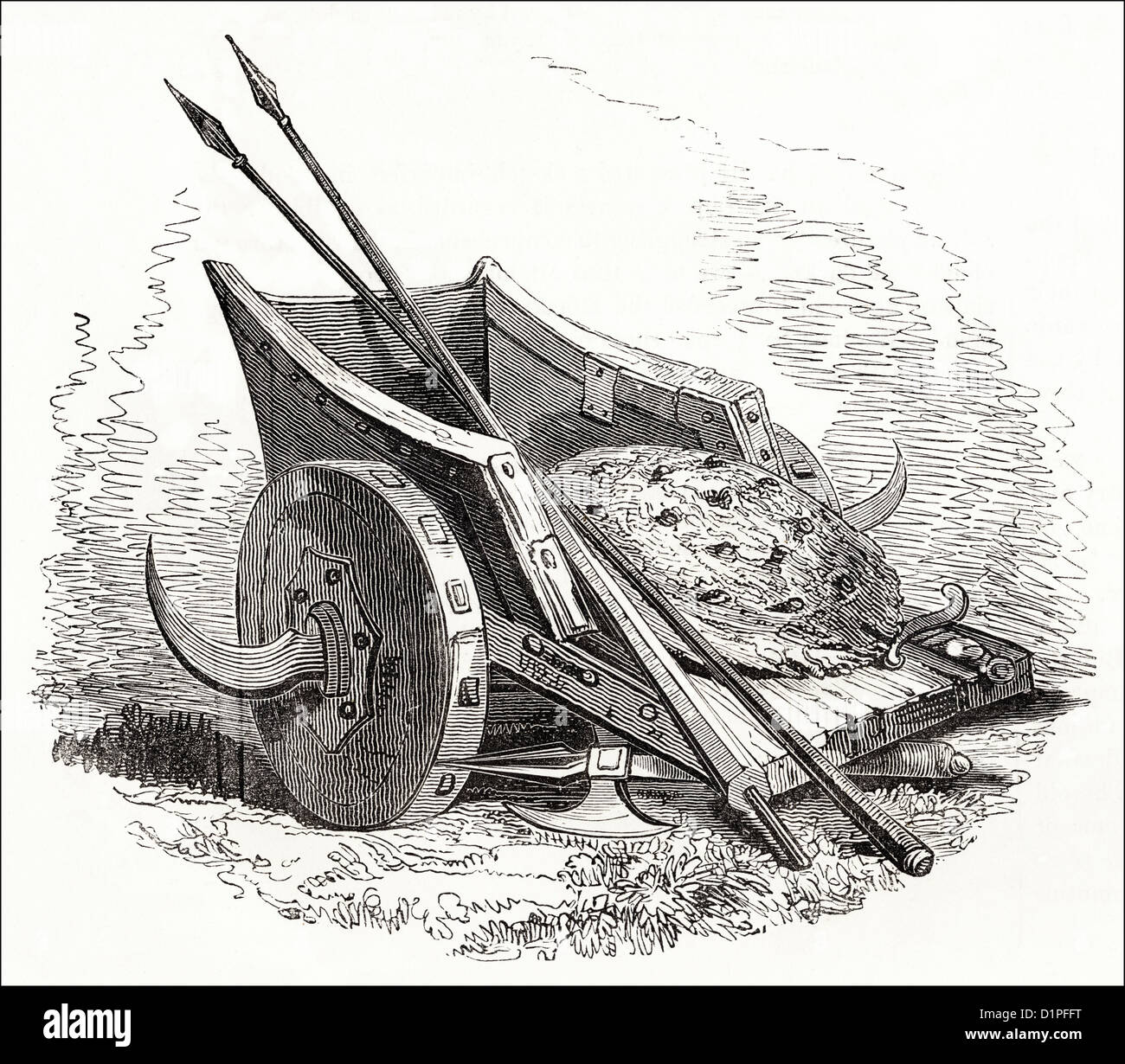 how to build axe chariot
