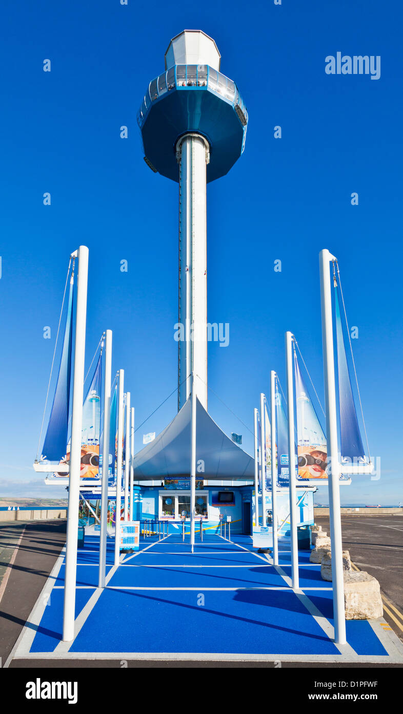 Weymouth sealife tower The Quay Weymouth Bay Dorset England UK GB EU Europe - Stock Image
