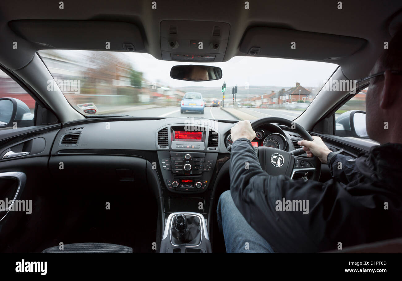 Driver Car Driving Uk High Resolution Stock Photography And Images Alamy
