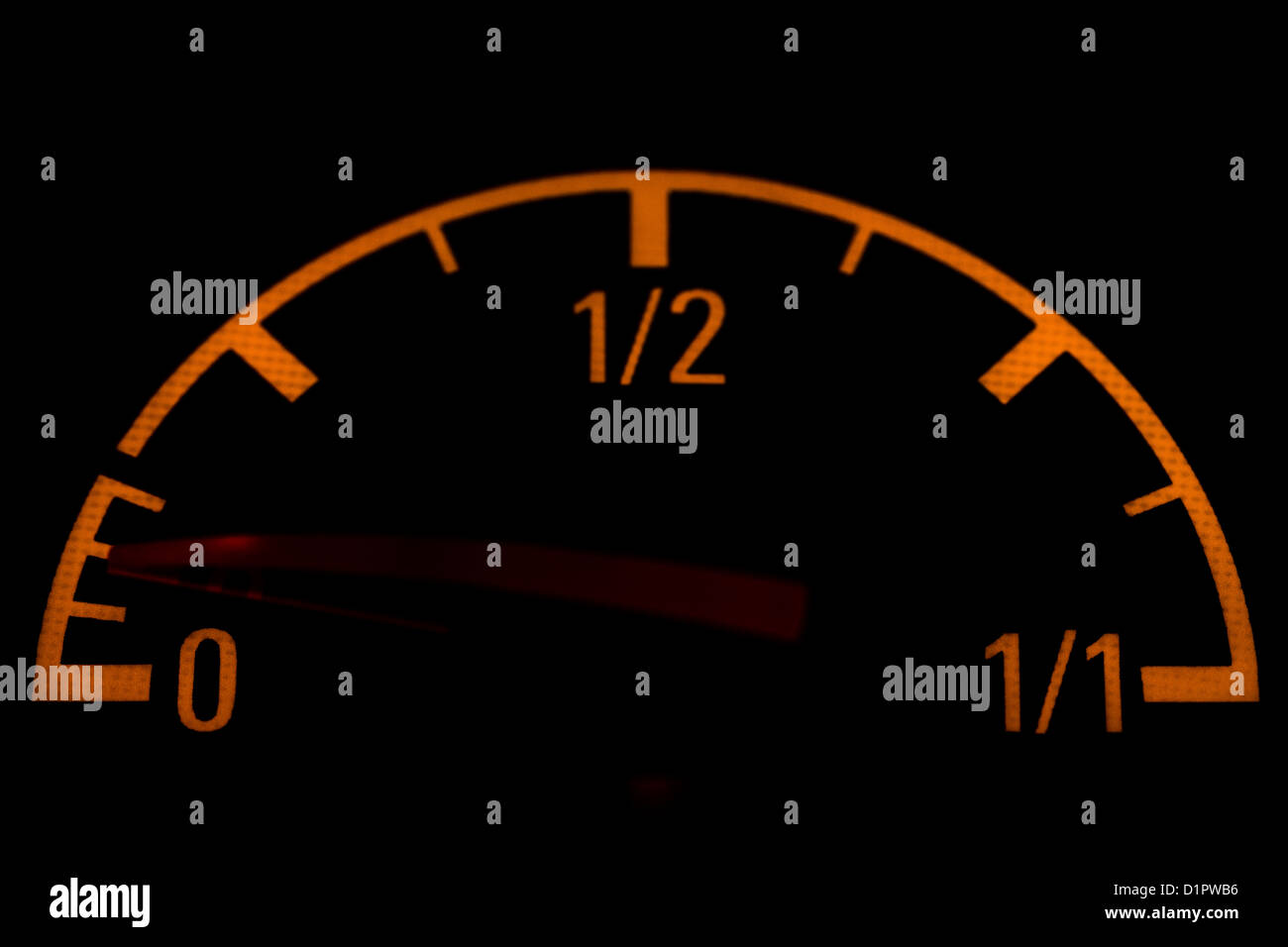 Car indicators - Stock Image