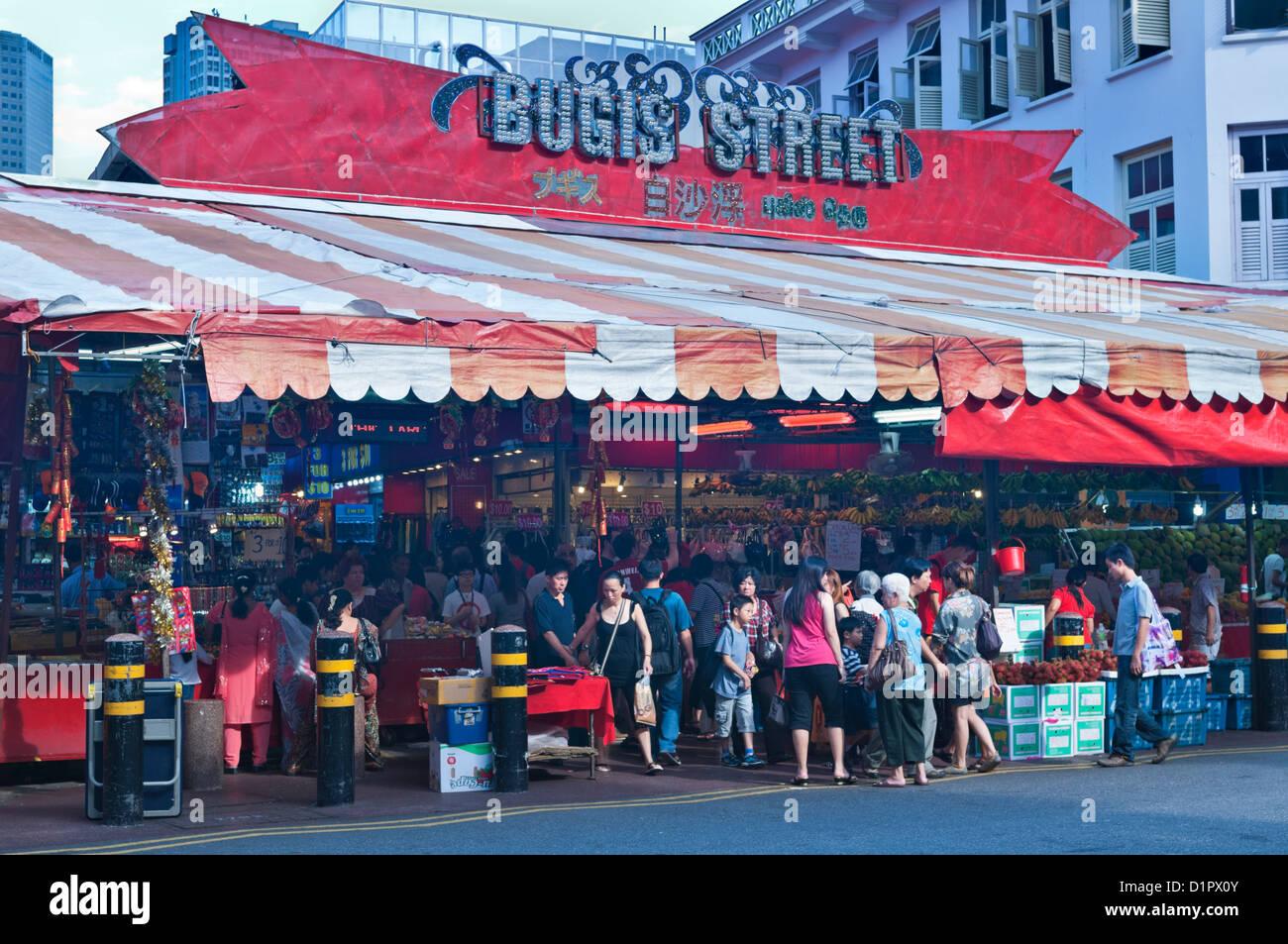 Bugis Street Market Food