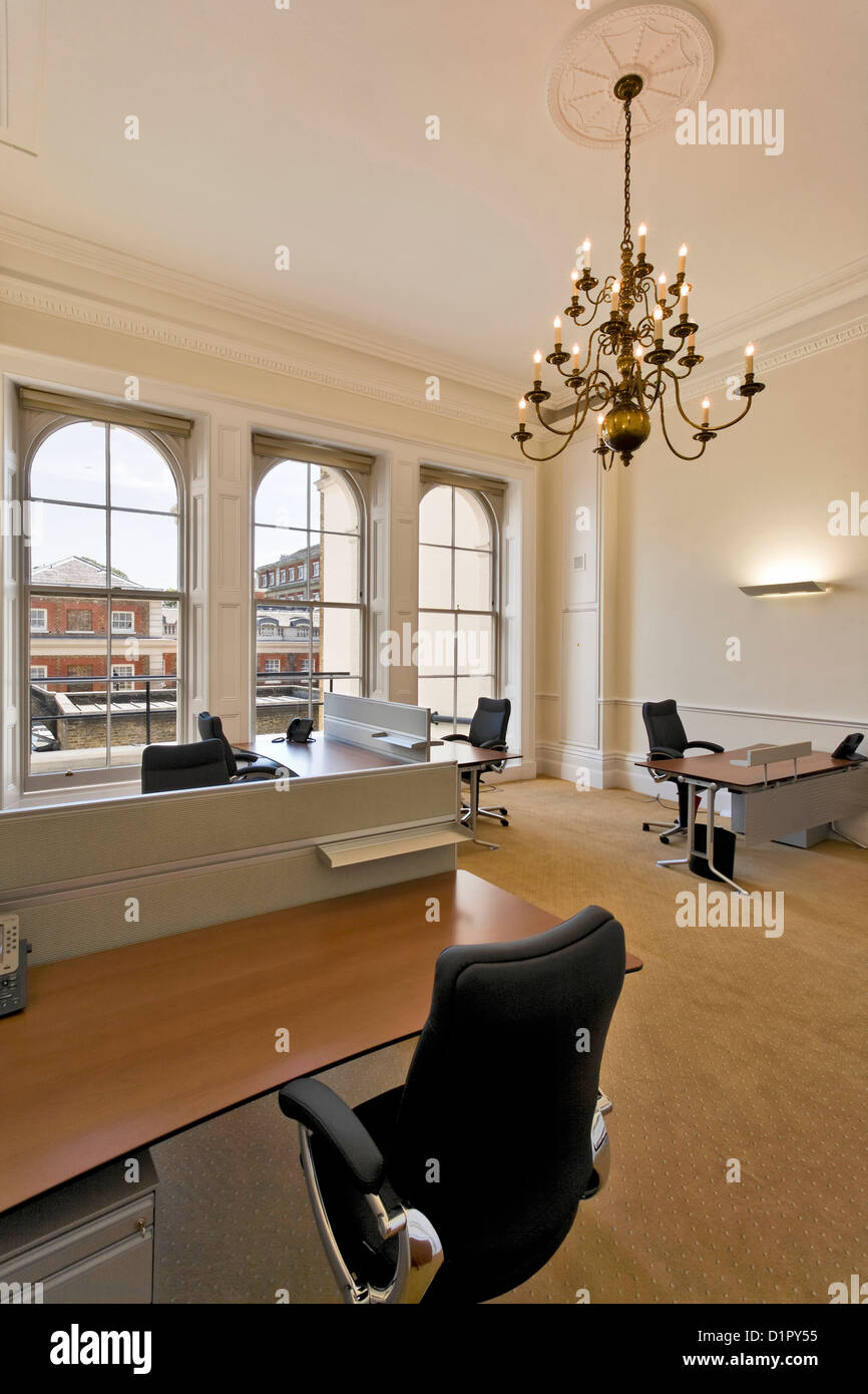 Prestige offices, Pall Mall, London. - Stock Image