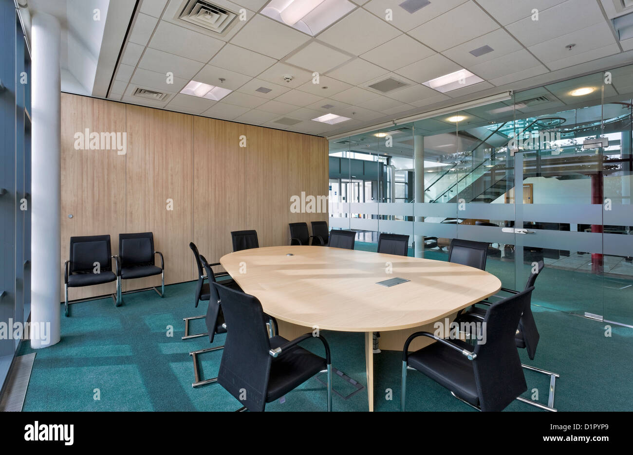 Kerrygold cheese factory and offices in leek staffordshire stock image