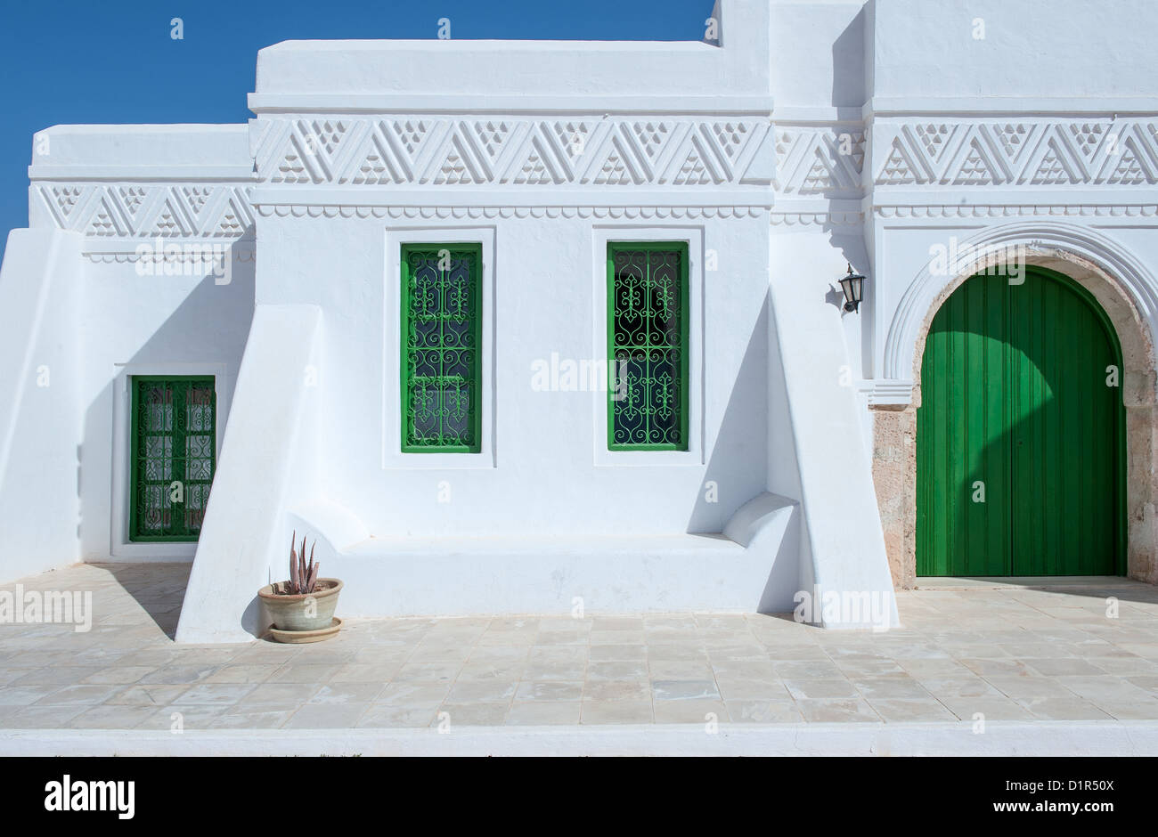 South of Tunisia, Djerba,the Guellala museum - Stock Image