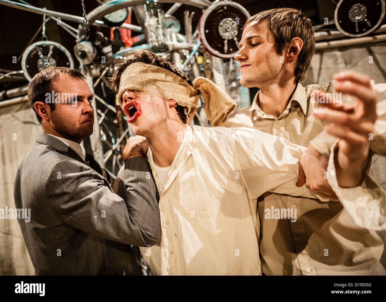 """To Kill a Machine"" a new play about the life of wartime code-breaker and artificial intelligence pioneer Alan Turing. Stock Photo"