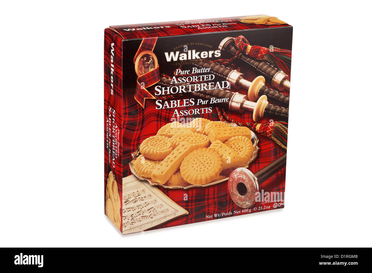 Package of Shortbread - Stock Image