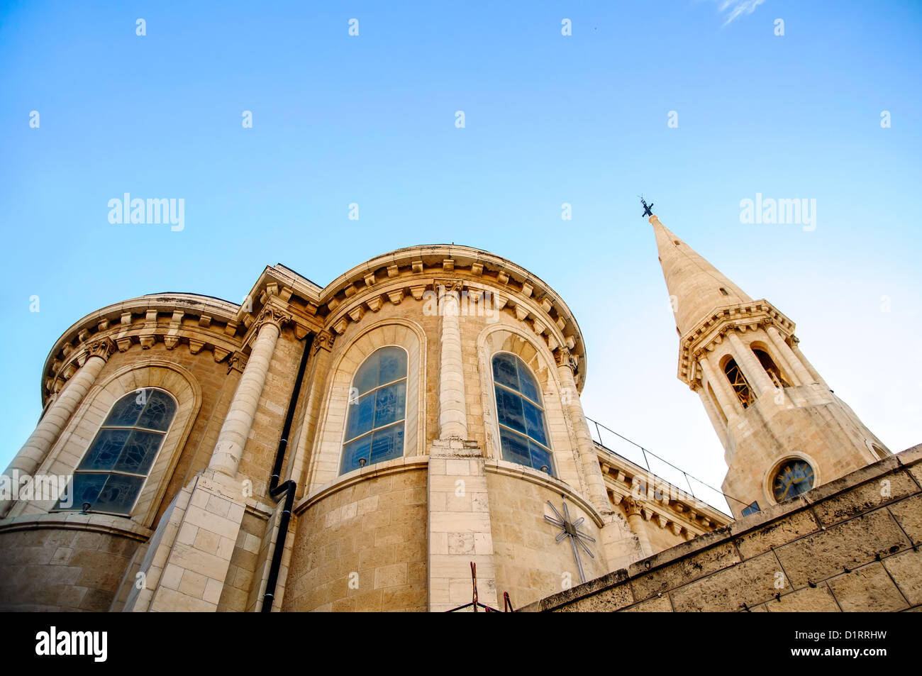 The Evangelical Lutheran Christmas Church in Bethlehem, - Stock Image