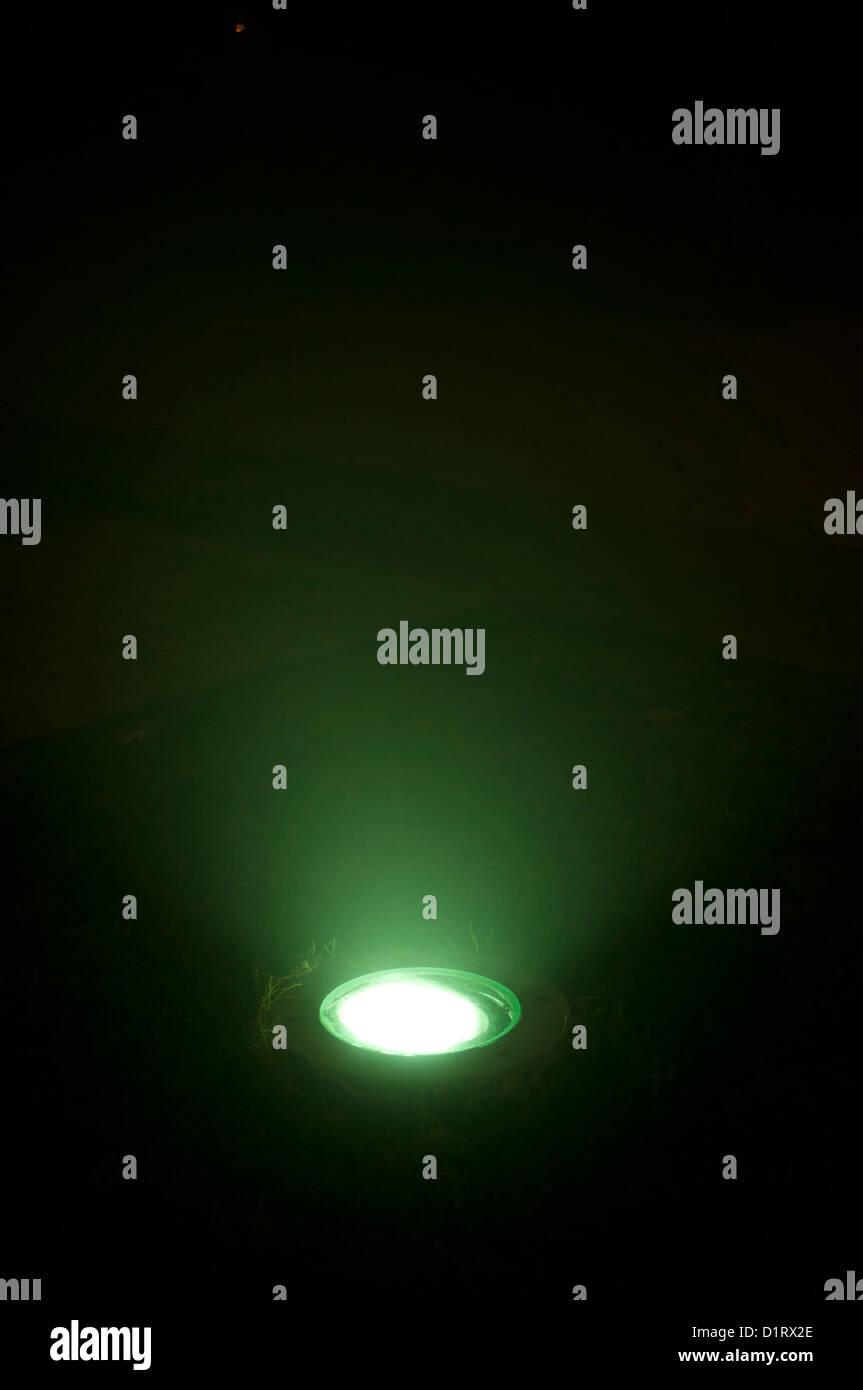Floor light Stock Photo