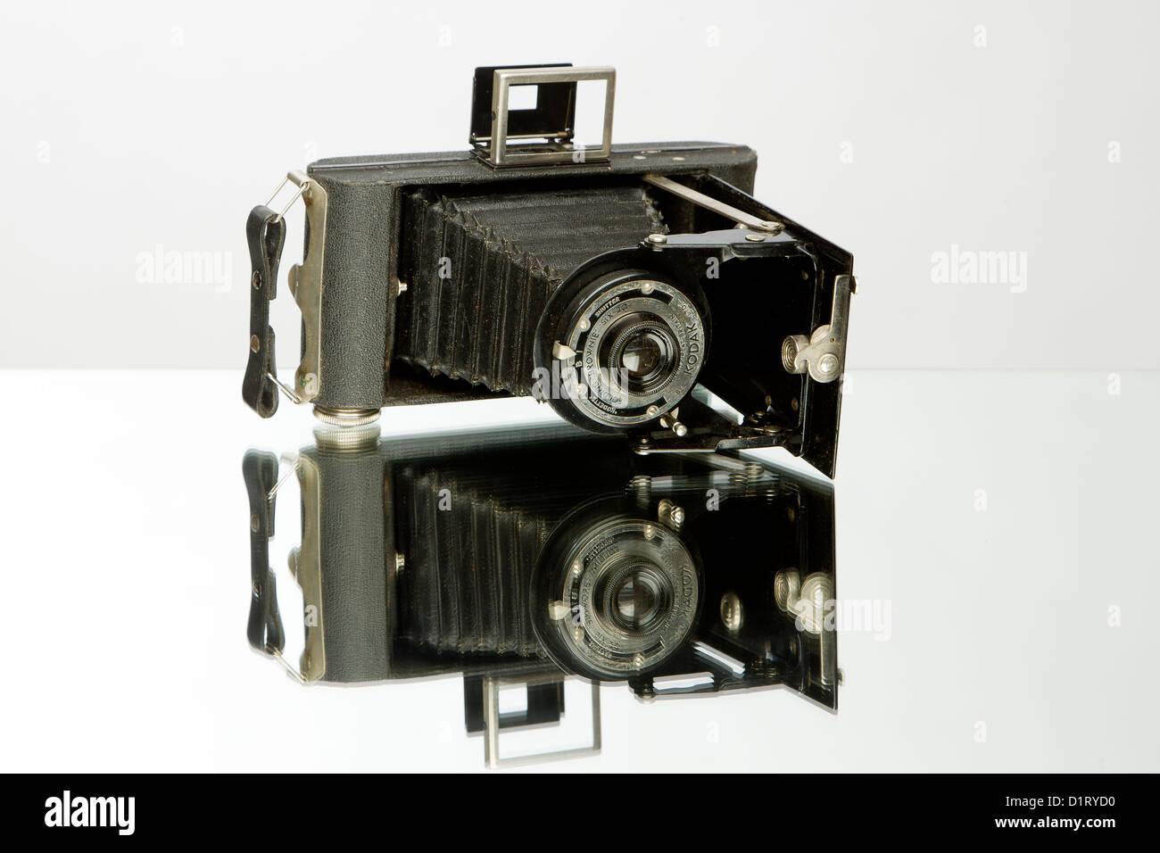 Kodak Six-20 Folding Brownie - Stock Image