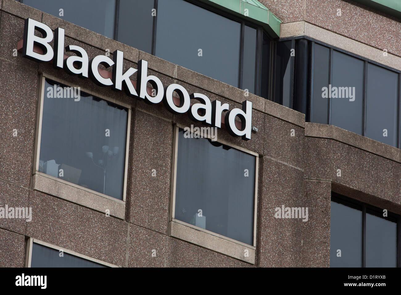 The headquarters of education software maker Blackboard.  - Stock Image