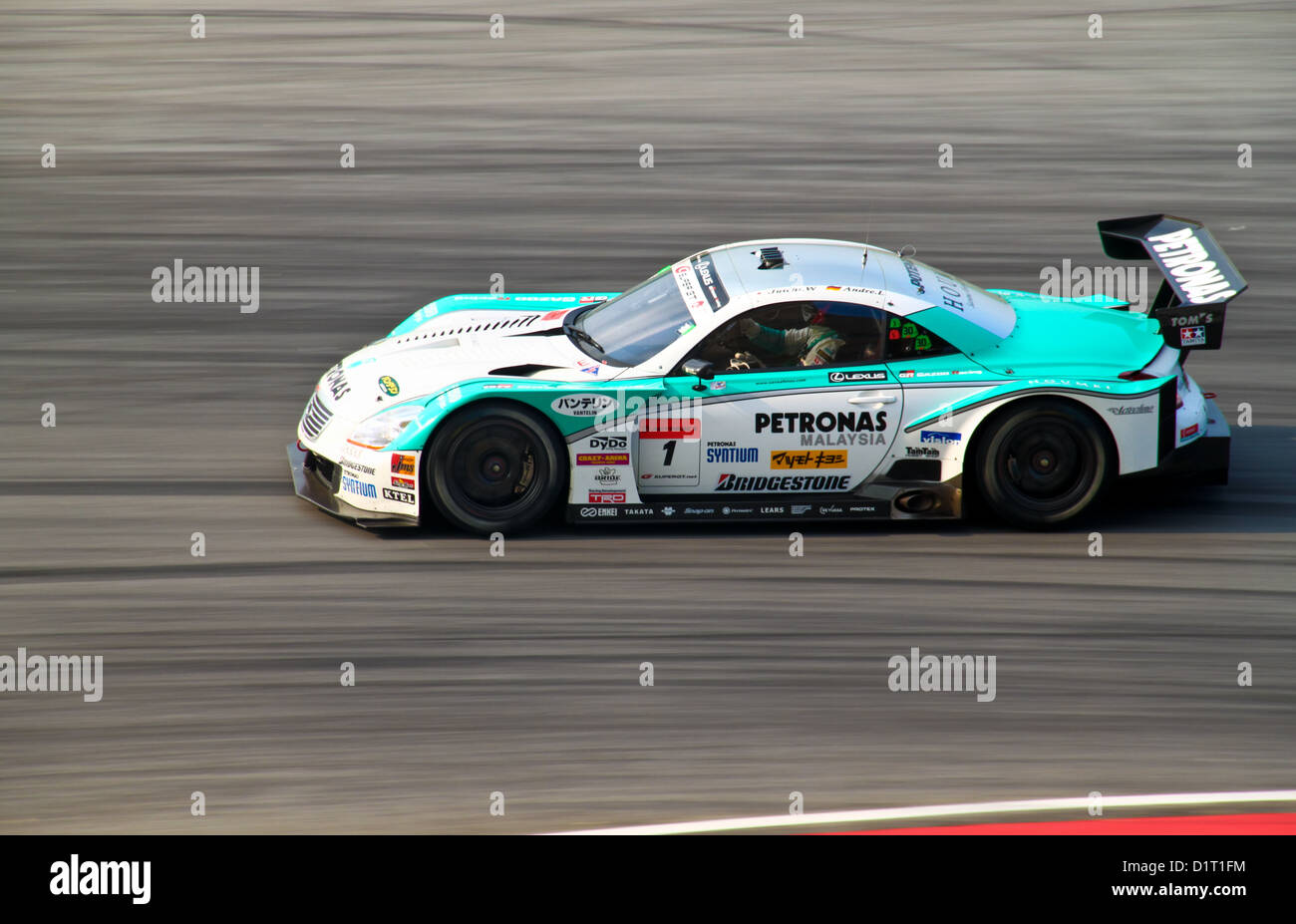 Petronas Lexus Car Competing At Super Gt Race On June 20 2010 In