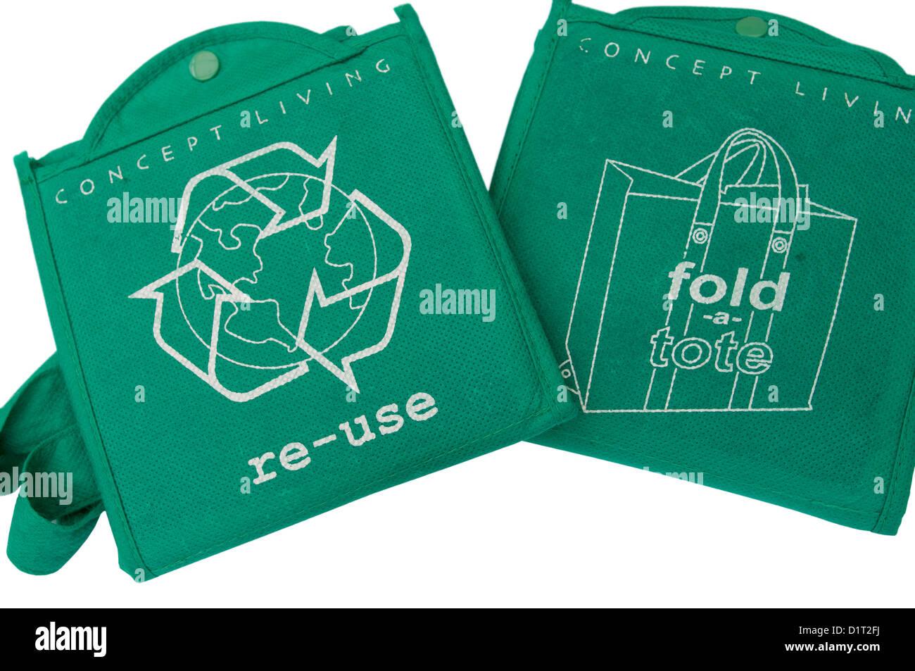 Reusable Shopping Bags - Stock Image