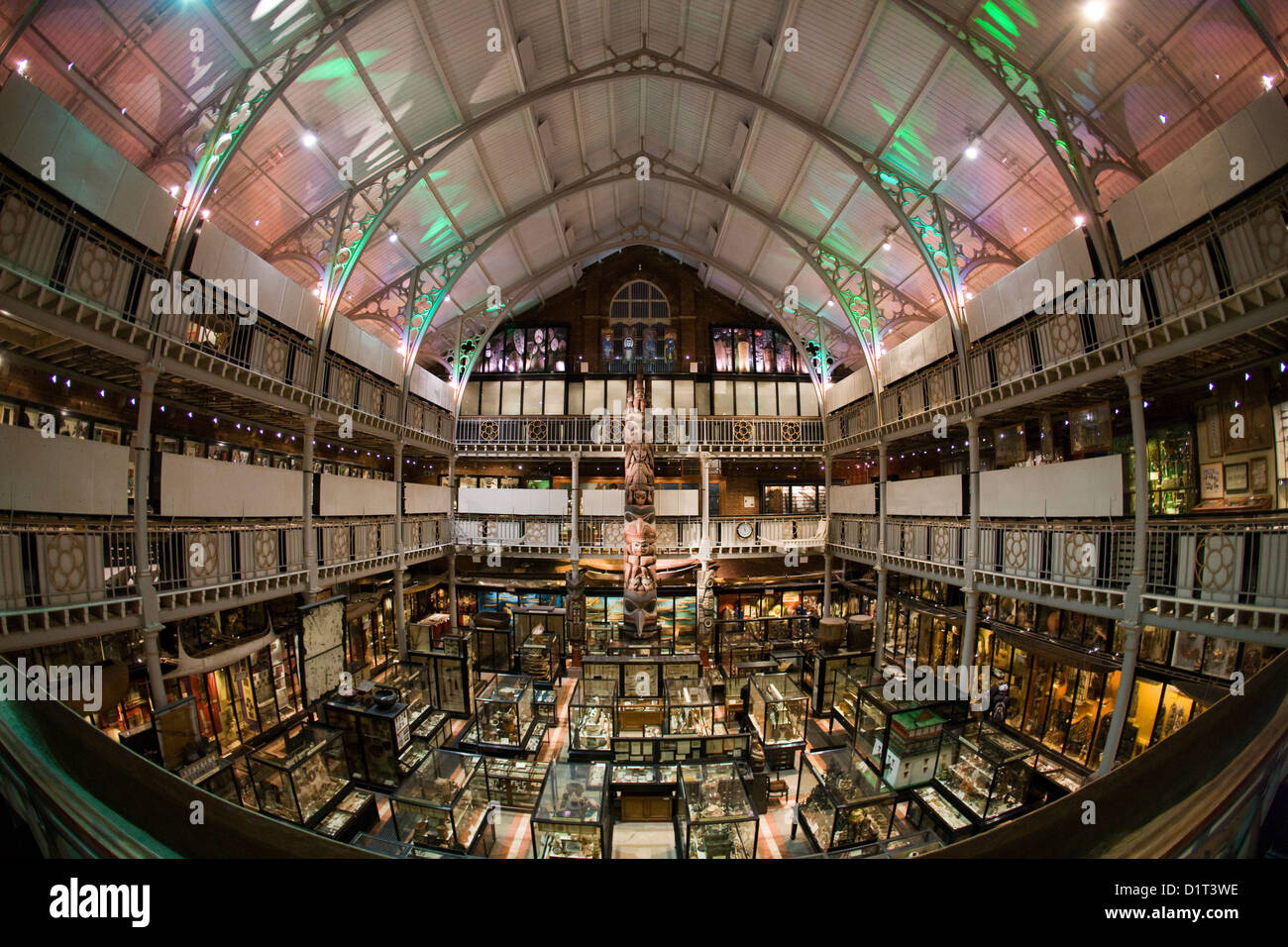 The Pitt Rivers Museum in Oxford, UK - Stock Image