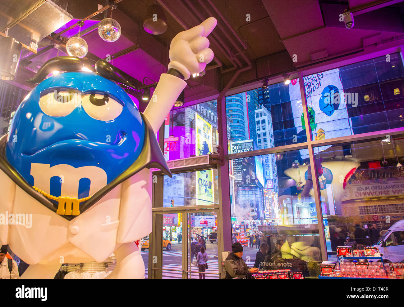 the mm world store in times square new york