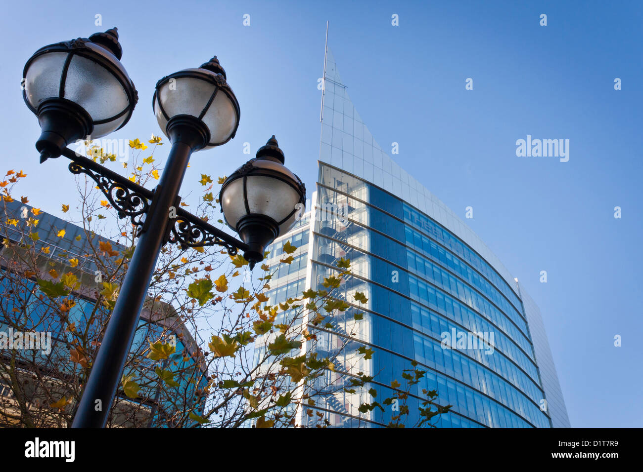 The Blade is the tallest building in Reading, Berkshire, England, GB, UK. - Stock Image