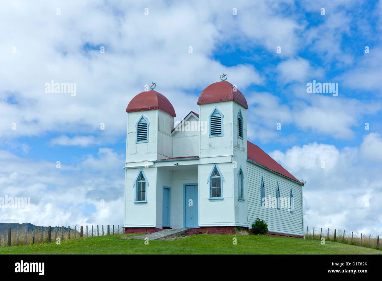 Ratana church, Raetihi New Zealand Stock Photo: 52778955 - Alamy
