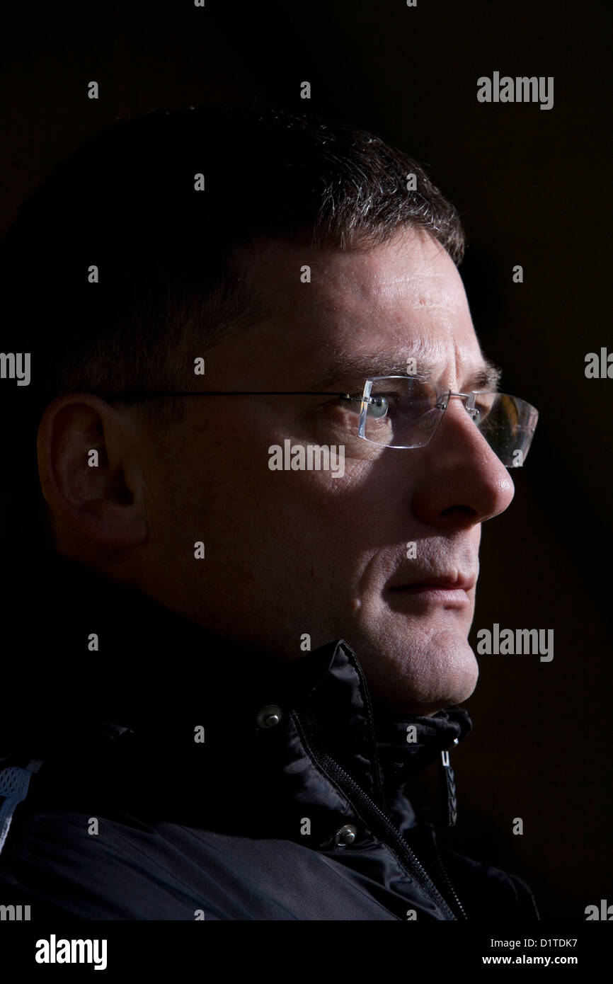 Craig Levein Scottish, former professional footballer and is a former manager of the Scottish National football - Stock Image