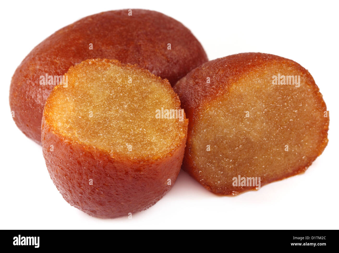 Close up of sweetmeats made of milk - Stock Image