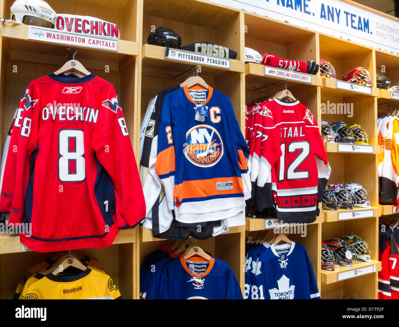 d6707d26 NHL Powered by Reebok Store, 1185 Avenue of the Americas, at the corner of  47th Street, NYC