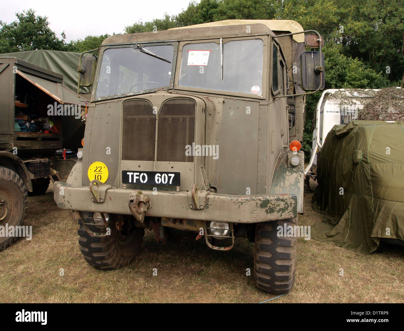 War and Peace Show....AEC Militant - Stock Image