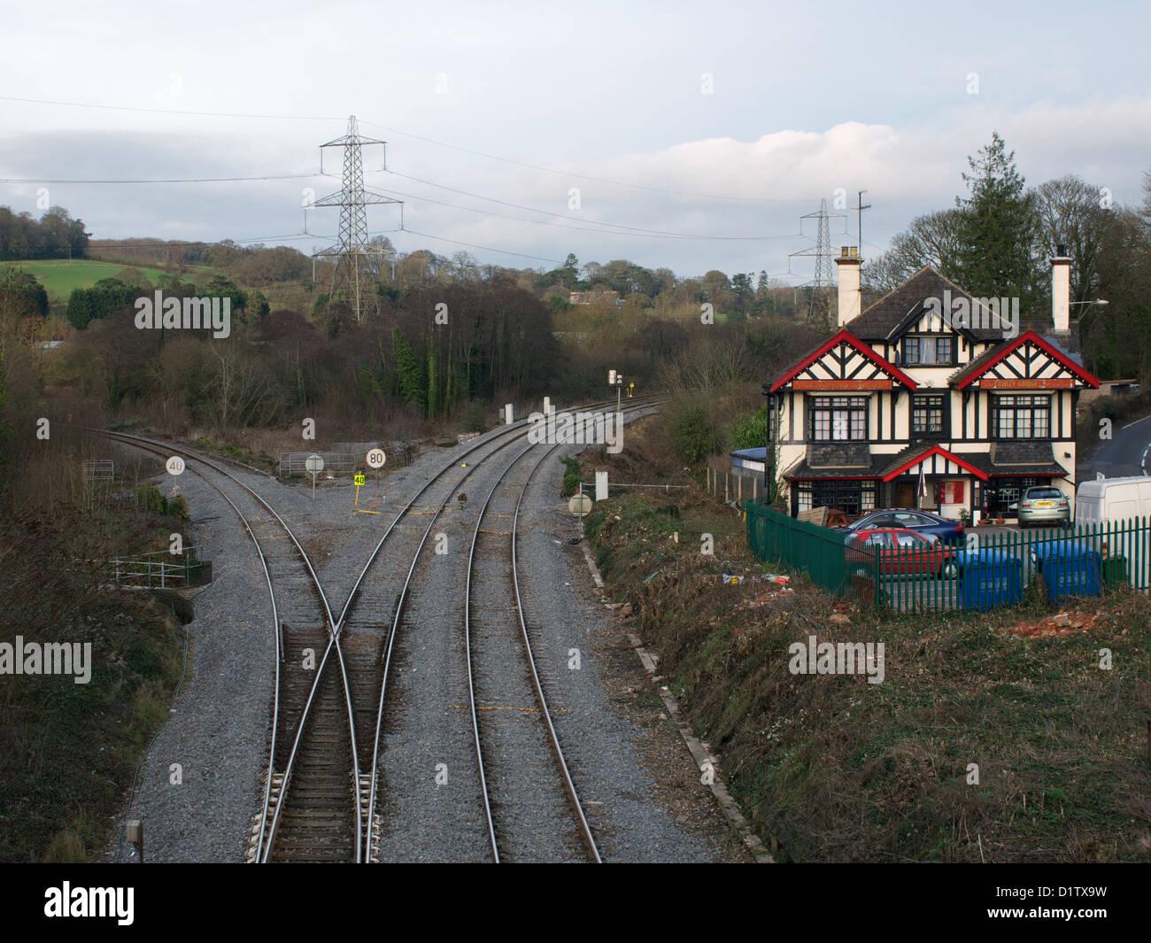 Cowley Bridge - Stock Image