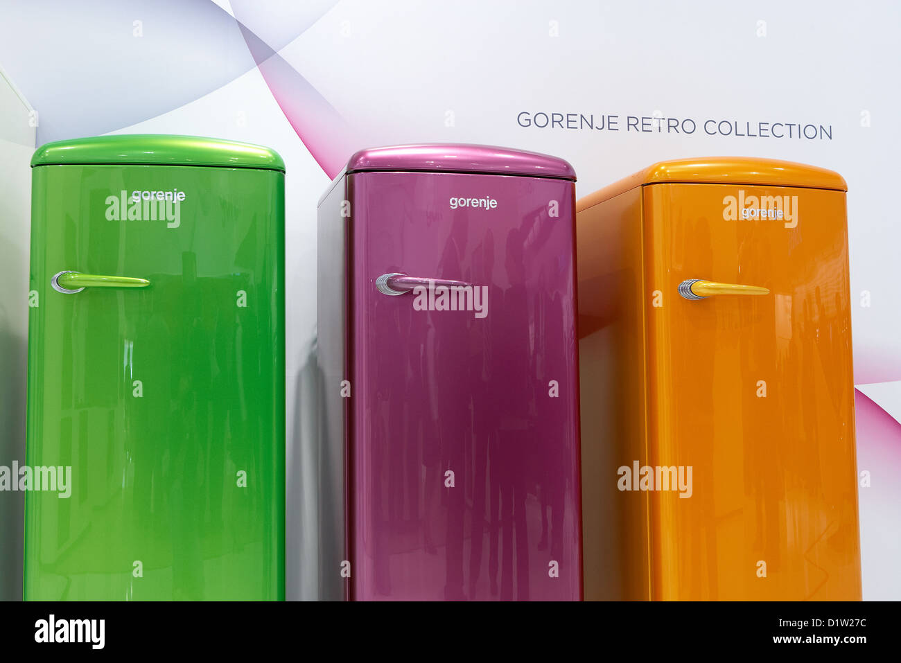 Berlin, Germany, Gorenje shows modern fridges in retro design at IFA ...
