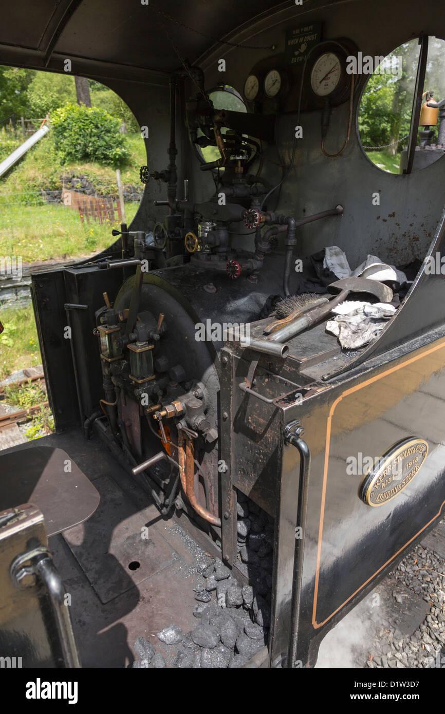 Teifi Valley Railway Wales Stock Photo