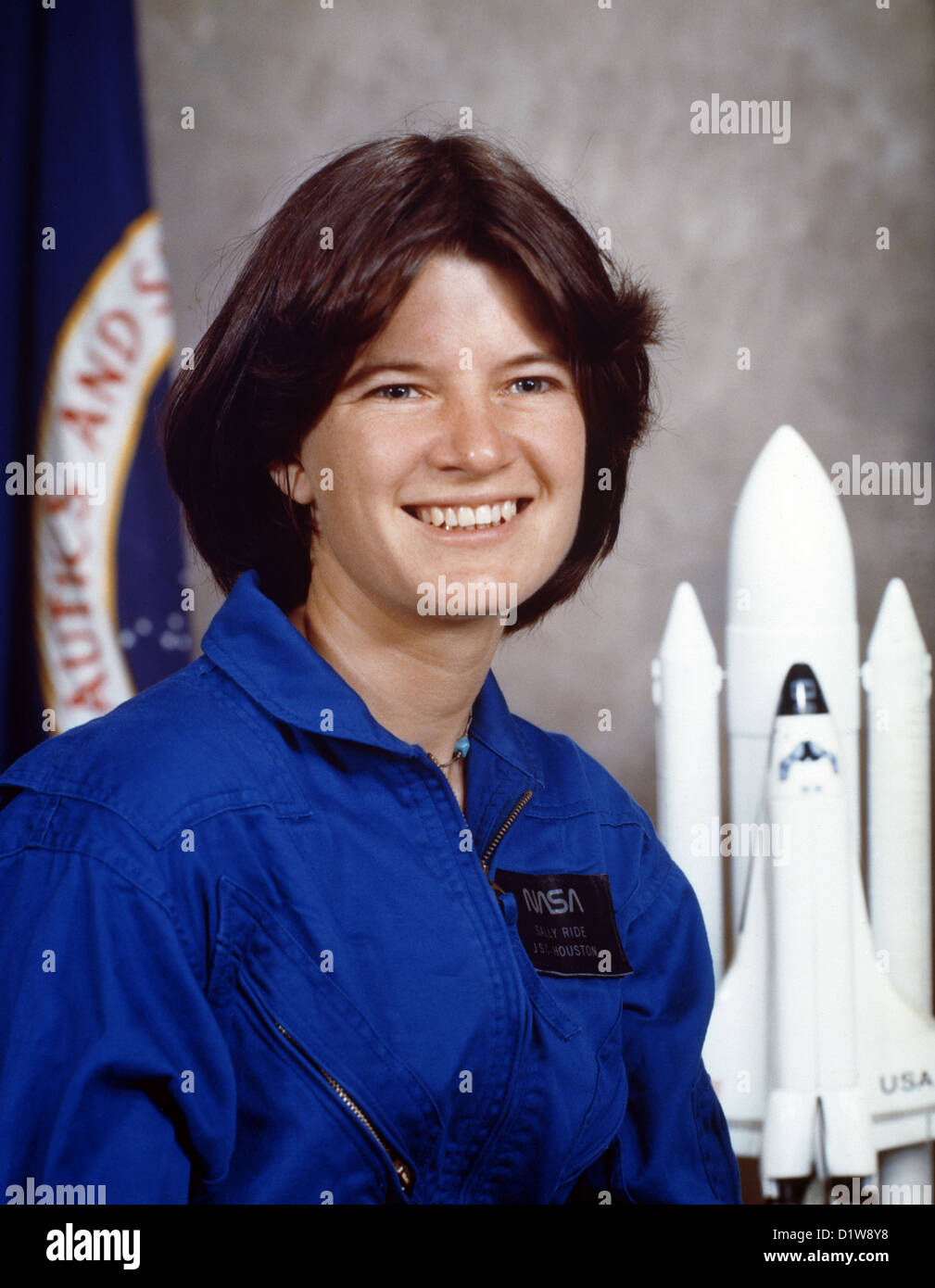Sally Ride, Sally Kristen Ride, American physicist and astronaut. - Stock Image