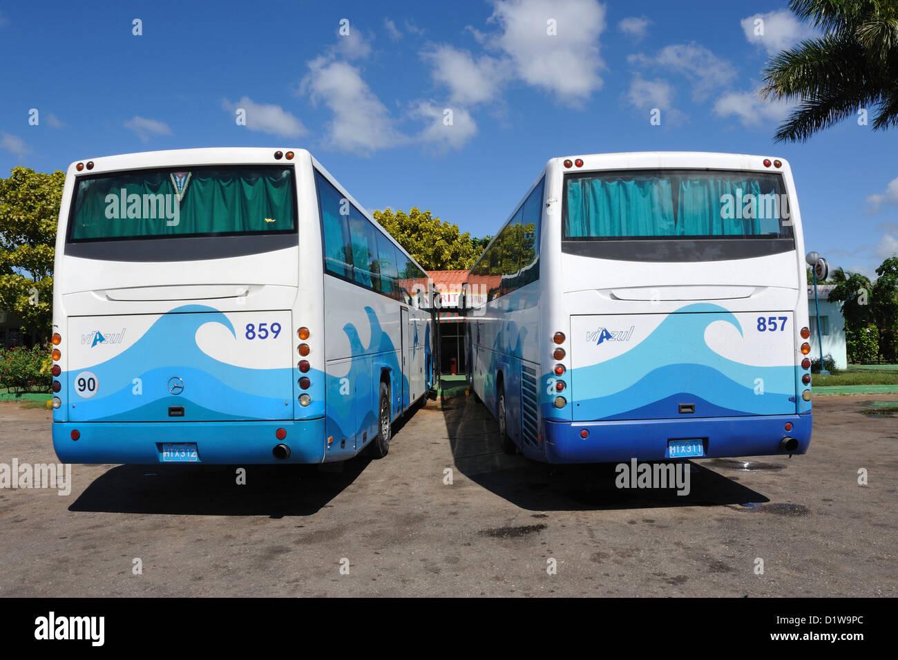 Viazul Coach Cuba Stock Photo Alamy