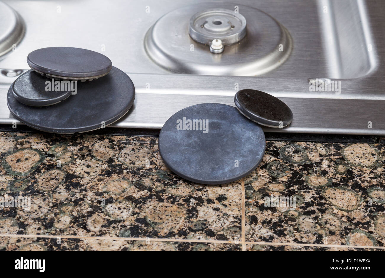 gas stove top. Wonderful Stove Natural Gas Stove Burner Covers Removed For Cleaning With Pilot Light And  Top In Background With Gas Stove Top E
