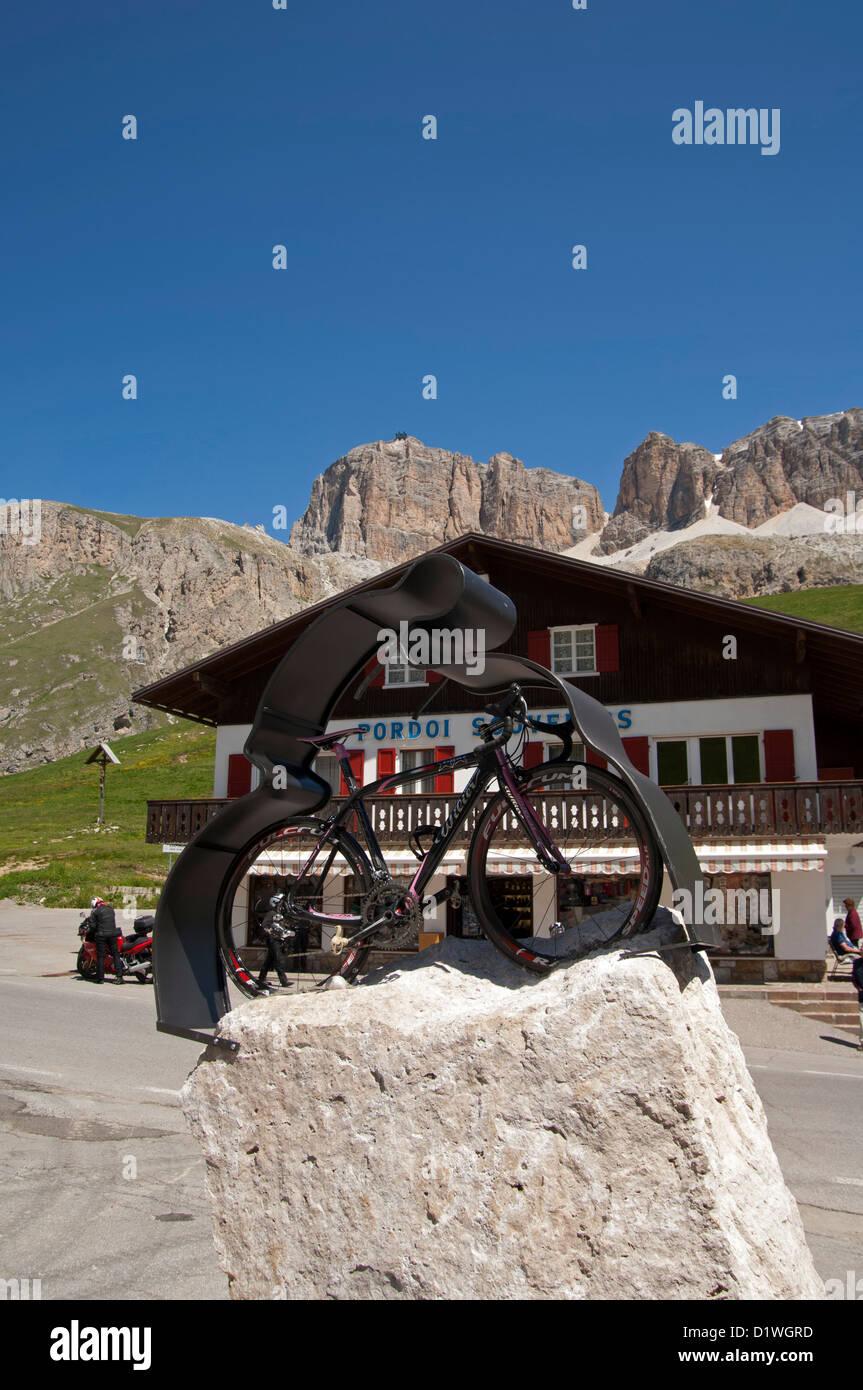 Passo Pordoi, Dolomiti, Trentino Alto Adige, Italy - Stock Image