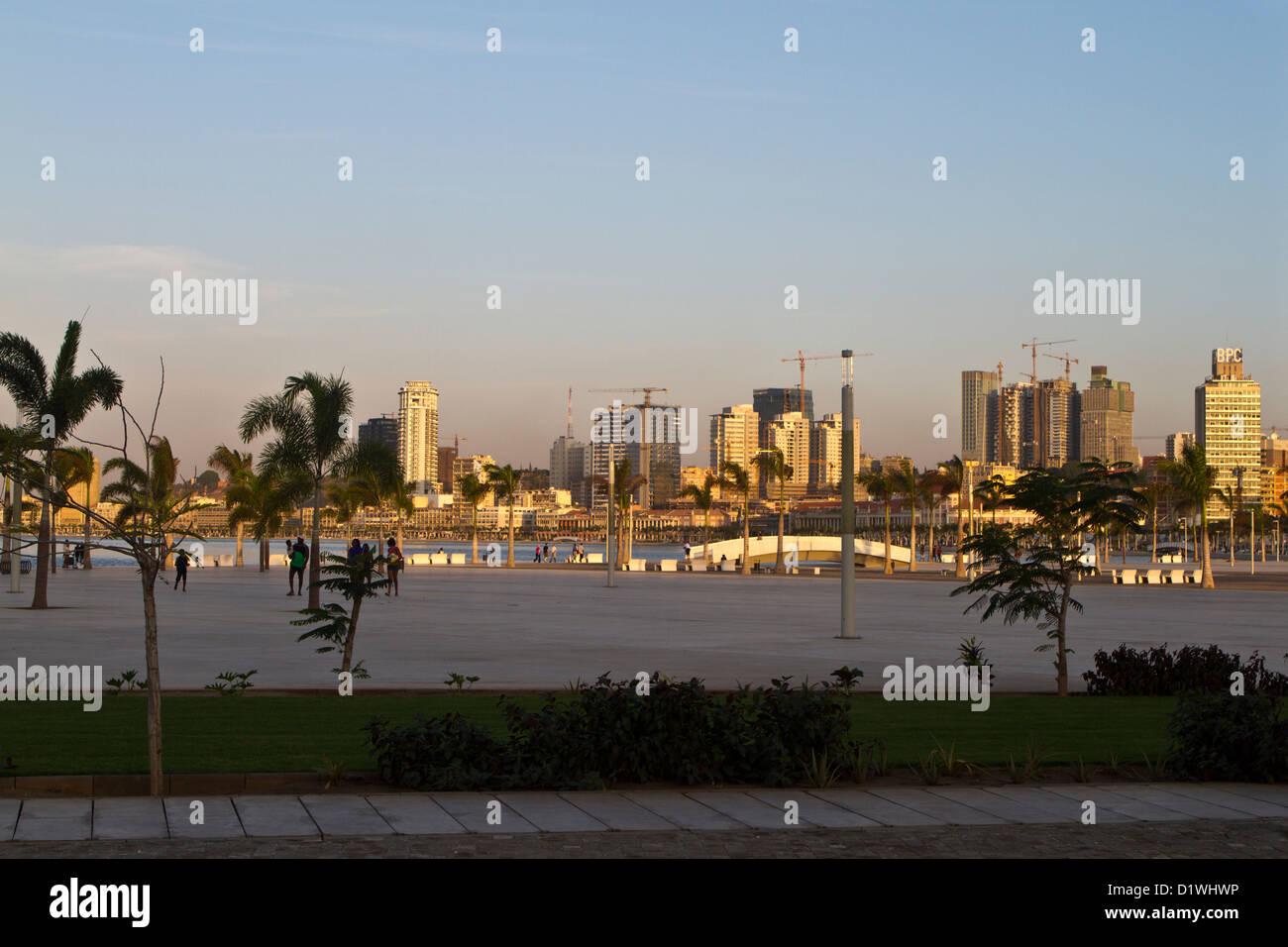 Marginal of Luanda, Angola - Stock Image