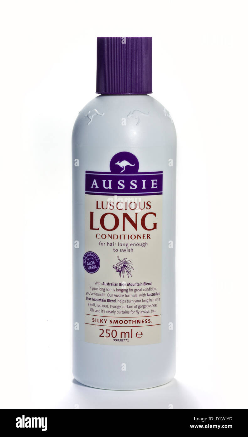 Aussie Luscious Long Hair Conditioner - Stock Image