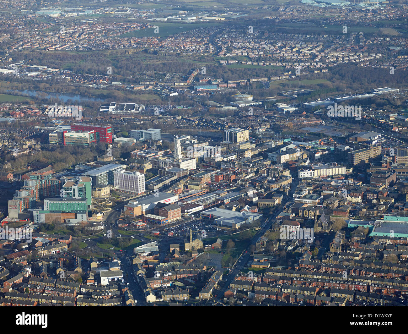 Barnsley Town Centre, South Yorkshire, Northern England - Stock Image