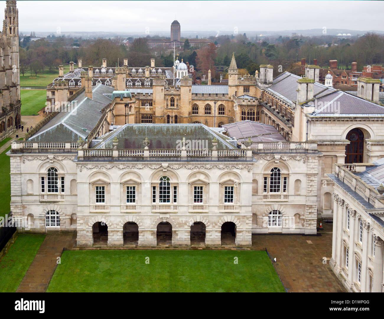 Cambridge University The Old Schools Trinity Hall - Stock Image