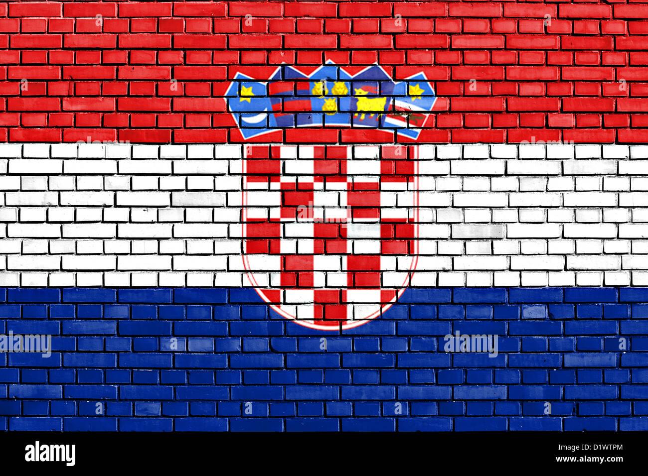 Croatian Flag Wallpaper Croatia Stock Photos