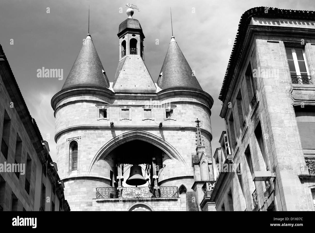 Bordeaux, Grosse Cloche - Stock Image