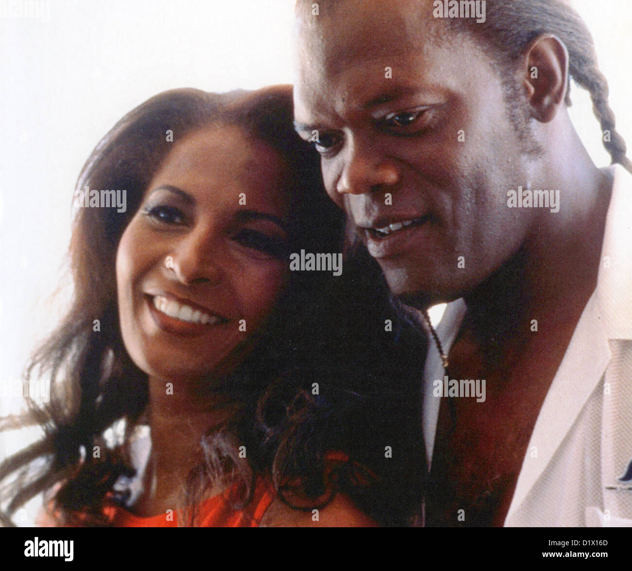 JACKIE BROWN 1997 Miramax film with Pam Grier and Samuel L. Jackson - Stock Image