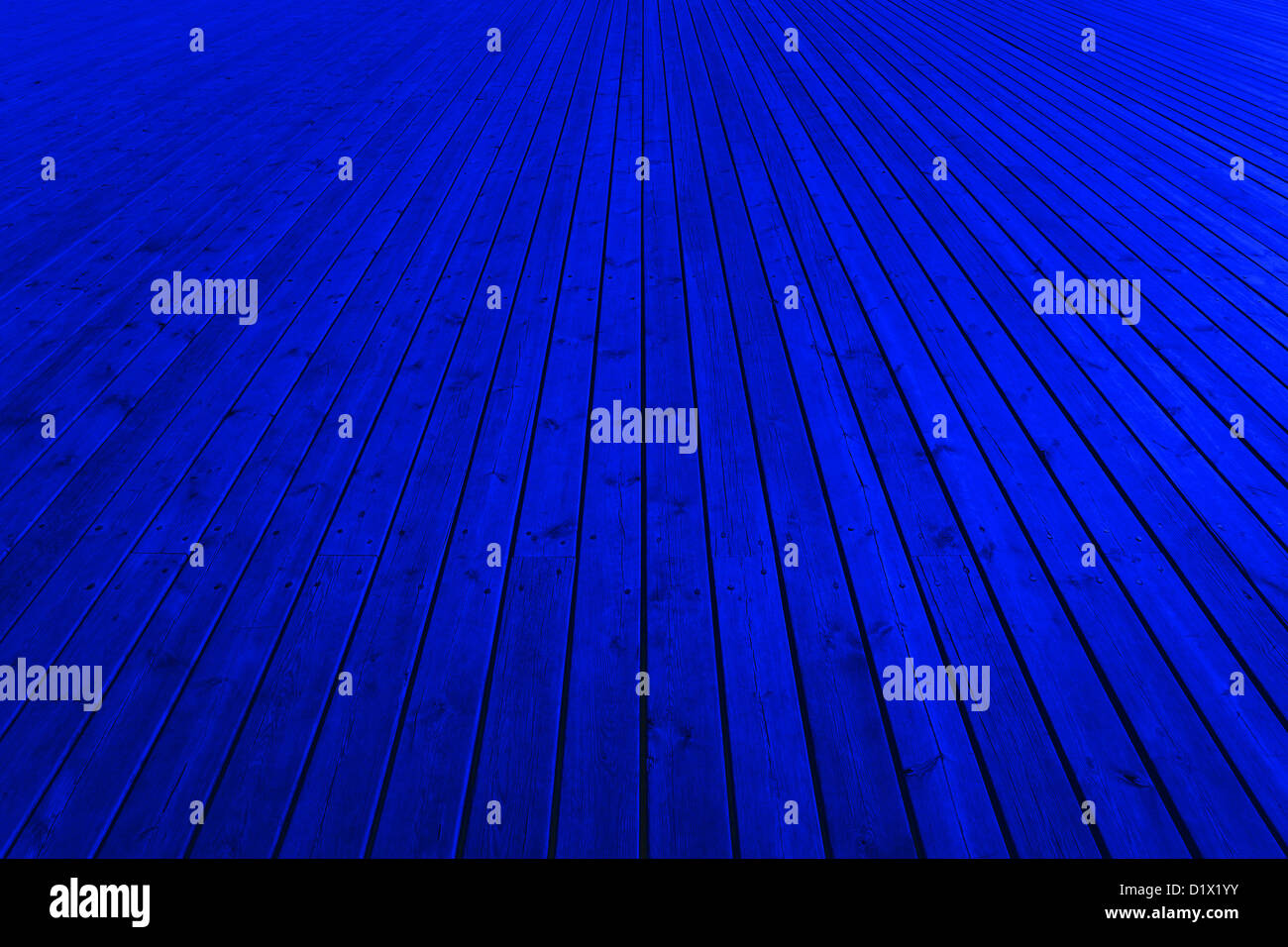 Wooden blue planks - High quality texture. - Stock Image