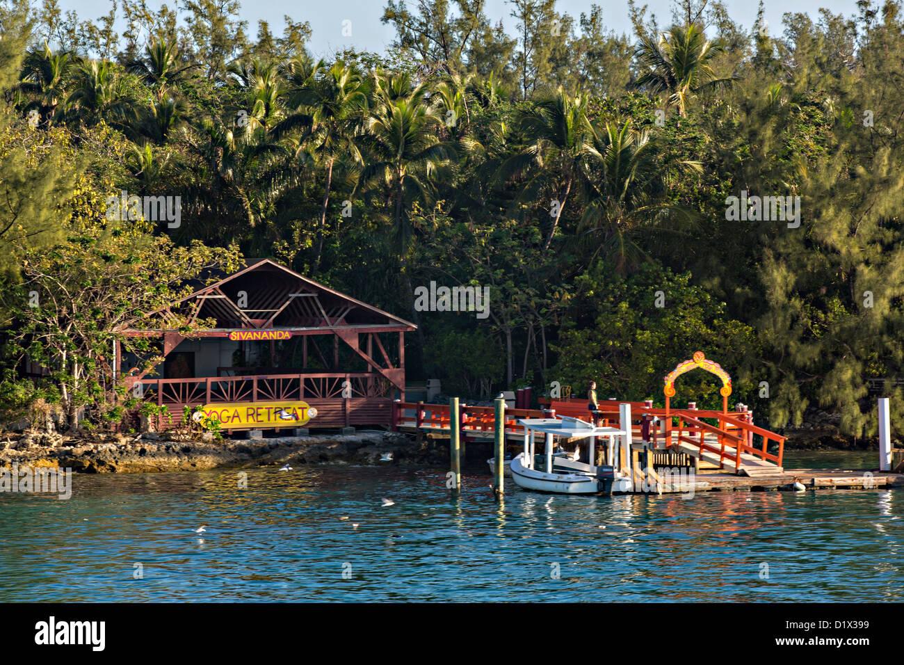 Sevanada Yoga Retreat Paradise Island Nassau Bahamas Caribbean Stock Photo Alamy