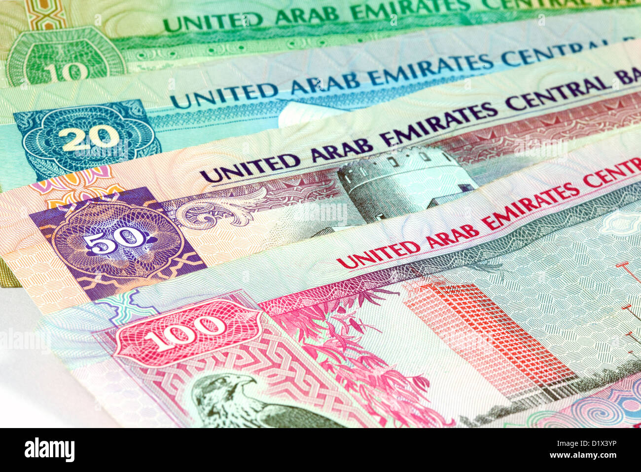 Dubai Currency Stock Photos Dubai Currency Stock Images Alamy