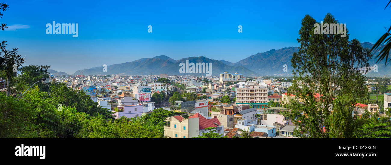 Panoramic View of Nha Trang, Vietnam, Stock Photo