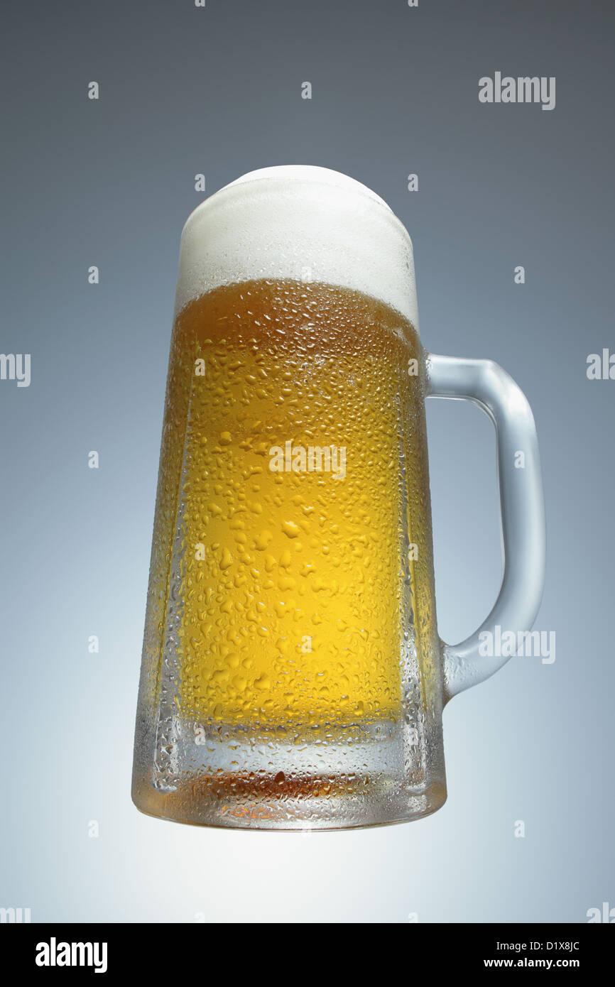 Draft beer - Stock Image