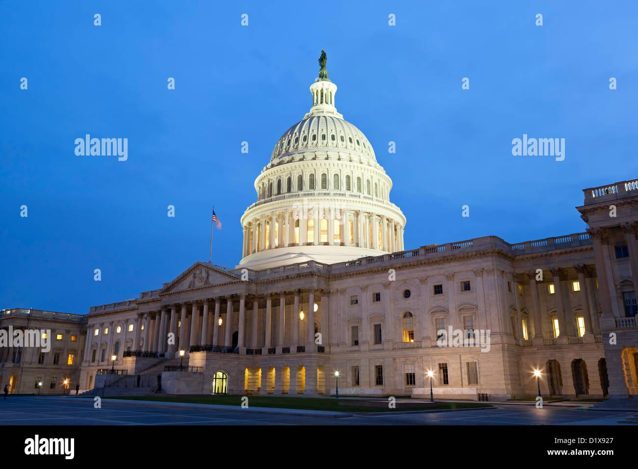 U.S. Capitol Building, Washington, DC USA - Stock Image