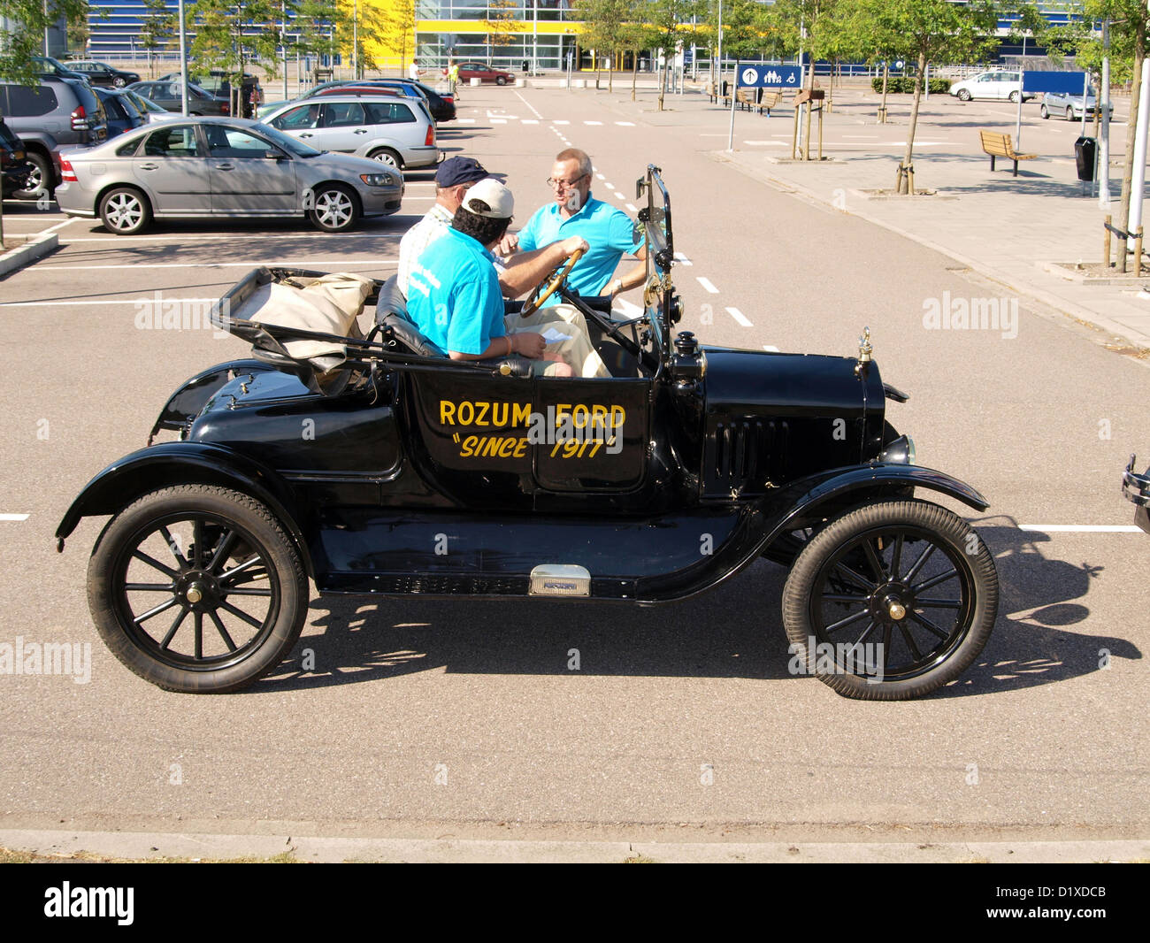 Classic Car Meeting Haarlem Ford Model T - Stock Image
