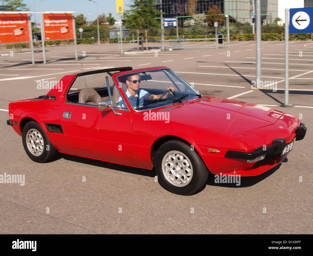 Classic Car Meeting Haarlem Fiat X1-9 - Stock Image