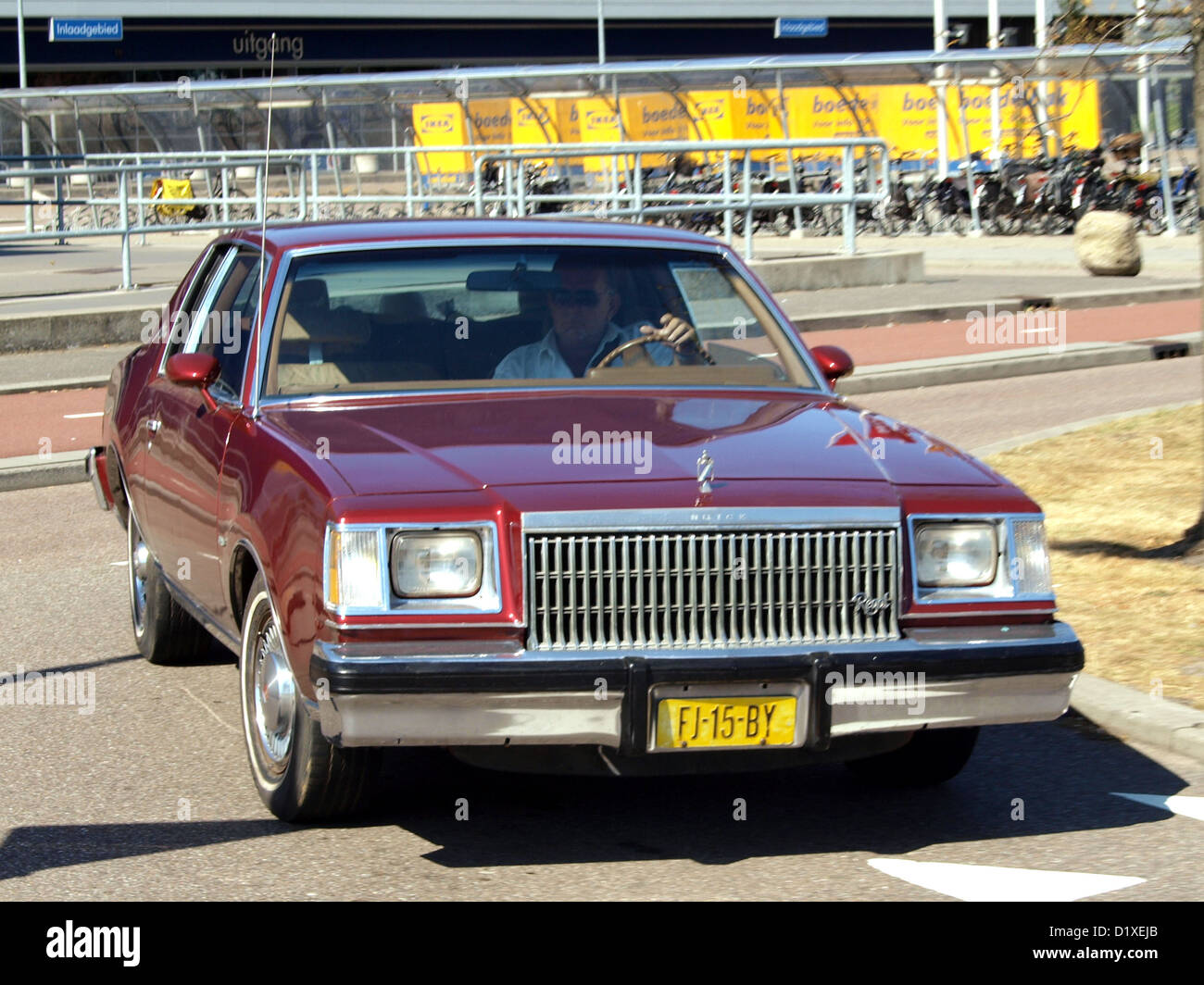 Classic Car Meeting Haarlem Buick regal Limited - Stock Image