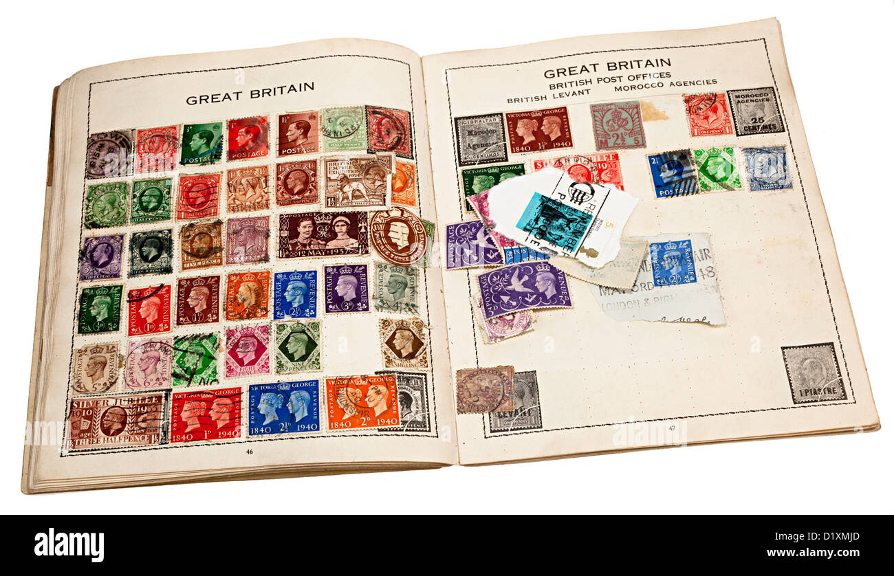 Stamp Collecting Stock Photos & Stamp Collecting Stock
