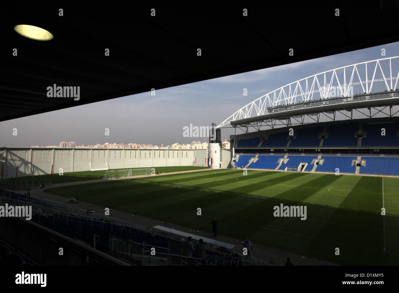 The New Netanya, Israel soccer stadium Stock Photo: 52832953