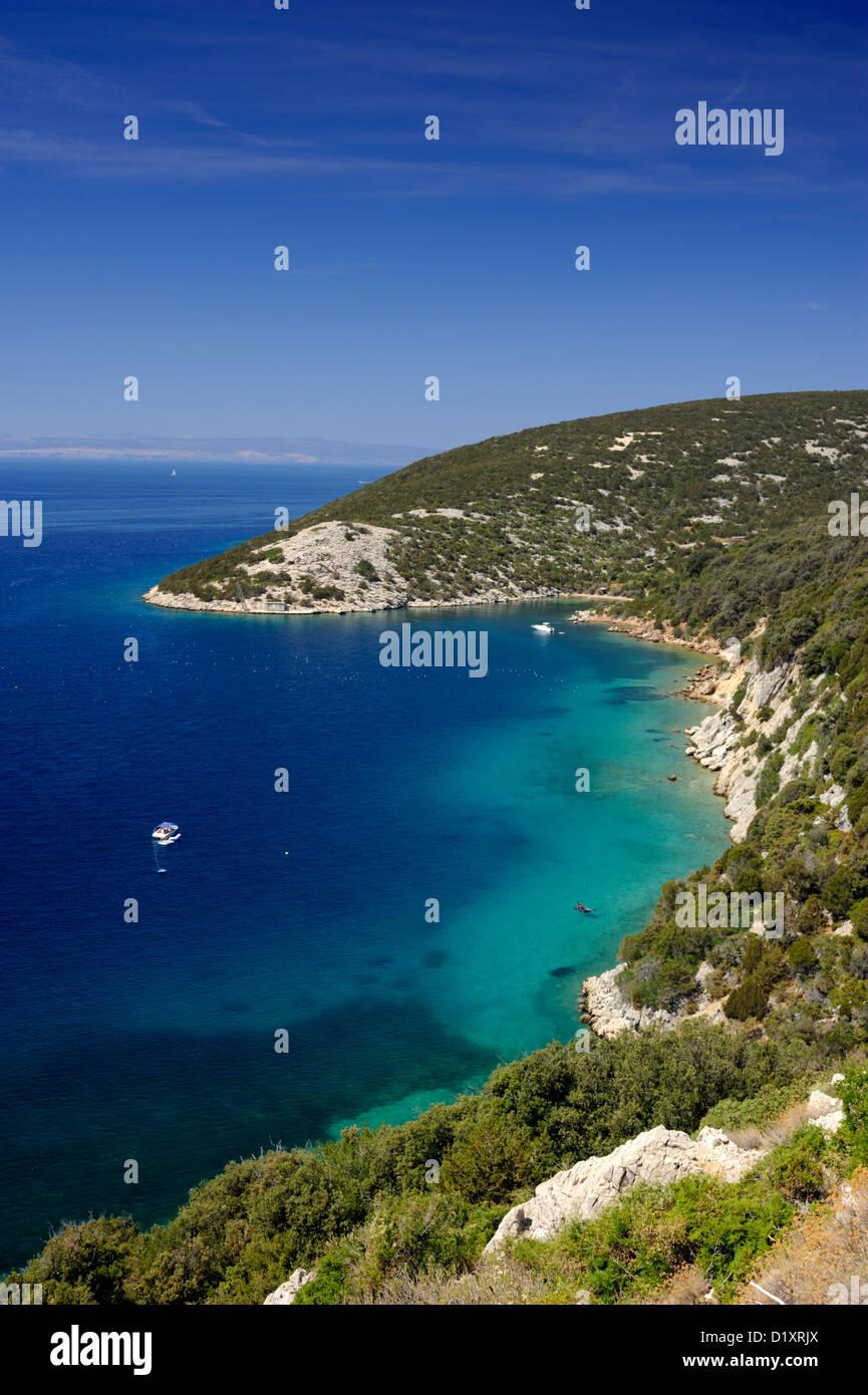 croatia, dalmatian islands, kvarner, rab island - Stock Image